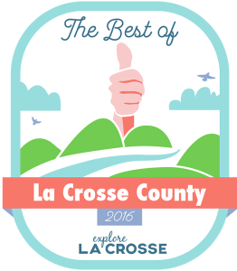 Voted Best BBQ of La Crosse County 2015