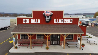 Big Boar BBQ Store Front West Salem